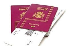 пасспорты Стоковое фото RF