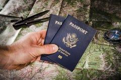 Пасспорты Стоковая Фотография RF