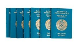 пасспорты kazakhstan Стоковое Изображение RF