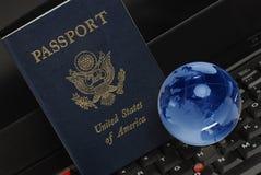 пасспорт мы Стоковые Фотографии RF