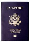 пасспорт мы Стоковое Изображение RF