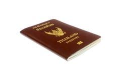 Пасспорт на белой предпосылке Стоковое Фото
