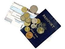 пасспорт приключения к Стоковое Фото