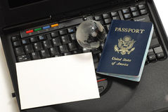 пасспорт США Стоковые Изображения