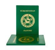 Пасспорт Туркменистана Стоковая Фотография RF