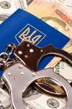Пасспорт Украина Стоковые Изображения RF