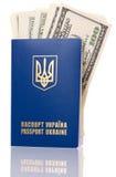 Пасспорт Украина Стоковое Фото