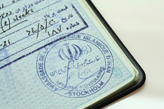 пасспорт Стоковые Фотографии RF