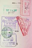 пасспорт стоковая фотография