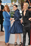 Пастбище Seydoux & Amira Casar & Aymeline Valade стоковые фото