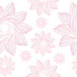 Пастельная чувствительная картина с флористическим иллюстрация штока