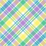 пастельная шотландка Стоковое Изображение RF