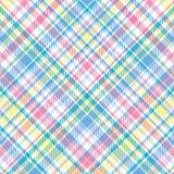 пастельная шотландка иллюстрация вектора