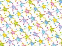 пастельные звезды картины бесплатная иллюстрация