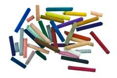 пастельные ручки Стоковые Фотографии RF