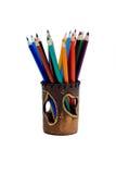 пастельный карандаш стоковые изображения