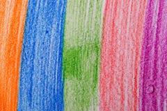 пастельный карандаш стоковые фотографии rf