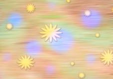 Пастельная иллюстрация космоса Стоковые Фото
