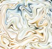Пастельная мраморная абстрактная предпосылка Иллюстрация сетки жидкостная поверхностная цифровая иллюстрация вектора