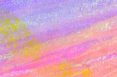 Пастельная предпосылка мытья чернил раскосные нашивки Стоковое Фото