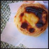Пастельное печенье de nata Порту Стоковые Фото