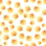 Пастельные листья осени Backgrund Стоковое Фото