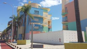 Пастельные квартиры стоковое изображение rf