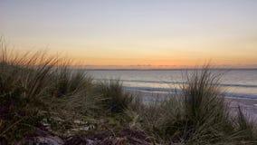 Пастельный восход солнца над океаном Стоковое фото RF
