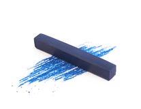 Пастельный изолированный мел crayon Стоковая Фотография RF