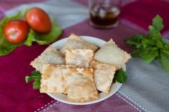 Пастель (бразильское блюдо) Стоковое Изображение