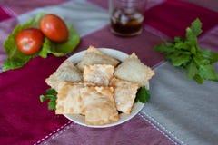 Пастель (бразильское блюдо) Стоковые Фото