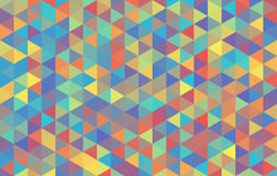 Пастель хаоса вектора треугольника предпосылки темная Стоковые Изображения