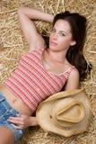 пастушка сексуальная стоковое изображение