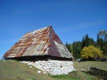 Пастырский дом горы Стоковое Изображение RF