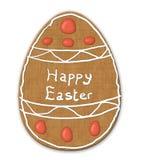 пасхальное яйцо печенья печенья Стоковая Фотография