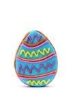пасхальное яйцо печенья Стоковые Изображения RF