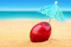 пасхальное яйцо пляжа Стоковое фото RF
