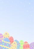пасхальное яйцо предпосылки Стоковые Фотографии RF
