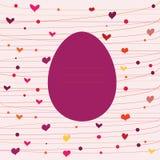 пасхальное яйцо смешное Стоковое Изображение