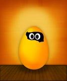 пасхальное яйцо смешное Стоковое Изображение RF