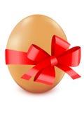 пасхальное яйцо смычка Иллюстрация вектора