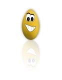 пасхальное яйцо шаржа смешное Стоковое Фото