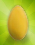 пасхальное яйцо шаржа Стоковое Изображение