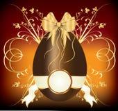 пасхальное яйцо шоколада Стоковые Фотографии RF