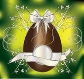 пасхальное яйцо шоколада Стоковое фото RF