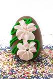 пасхальное яйцо шоколада Стоковая Фотография