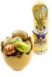 пасхальное яйцо bunnie стоковое изображение
