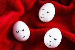 Пасхальные яйца как символ праздника спят Стоковое фото RF