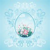 пасхальные яйца один вектор Стоковые Фотографии RF