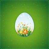 пасхальные яйца один вектор Стоковая Фотография